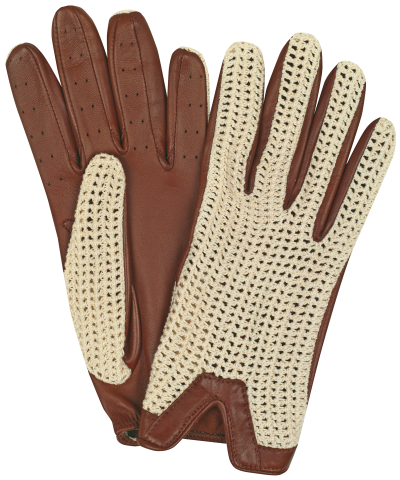 Image Shown - Tan / Natural Crochet