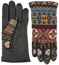 Ladies fairisle gloves