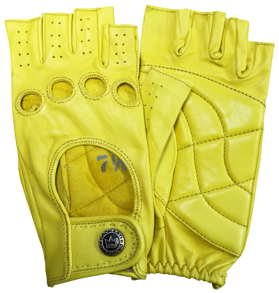 Yellow cycling Mitt