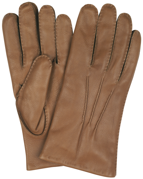 Image Shown - Tan Deerskin
