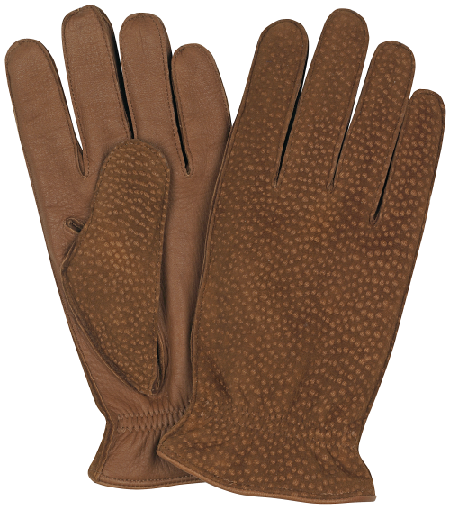 Image Shown - Tan Deerskin / Beaver Carpincho