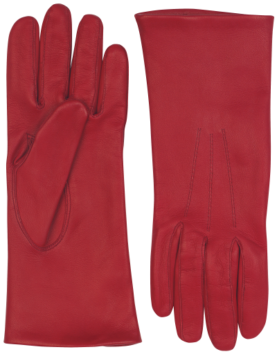 Ladies red glove