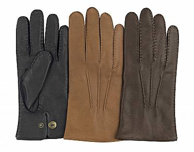 deerskin handsewn leather gloves