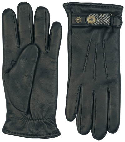 tweed handsewn casual gloves