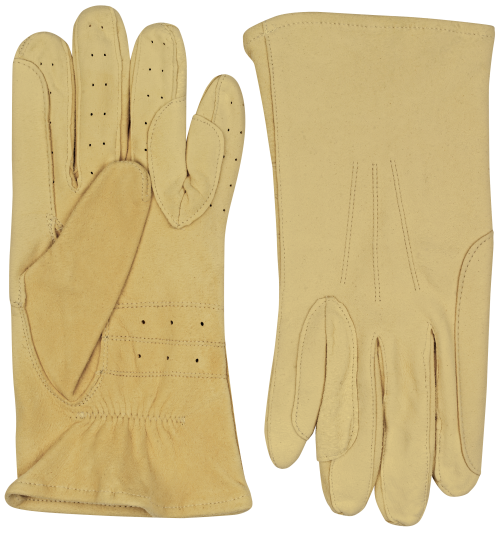 chamois equestrian leather gloves