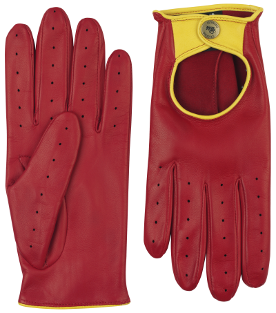 hamilton mens driving glove