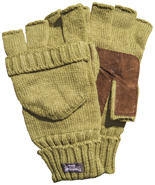Thinsulate Hooded Fingerless Glove